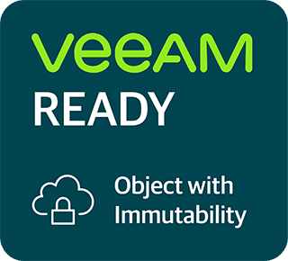 Veeam Ready for Object with Immutability