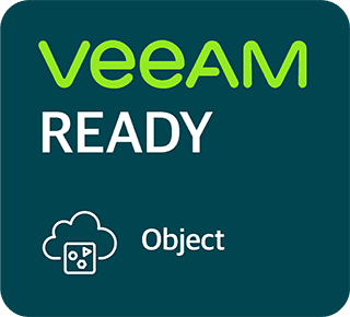 Veeam Ready for Object